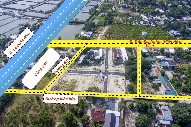 Các tuyến đường xung quanh dự án Cam Lâm Riverside