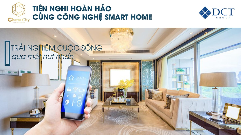 Công nghệ căn hộ thông minh dự án Charm City