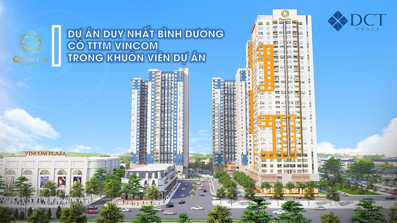 Dự án Charm City có Vincom trong khuôn viên