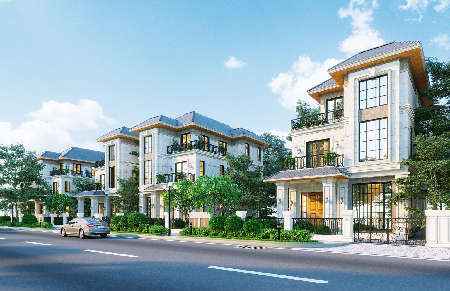 Khu biệt thự vườn dự án Century City Long Thành