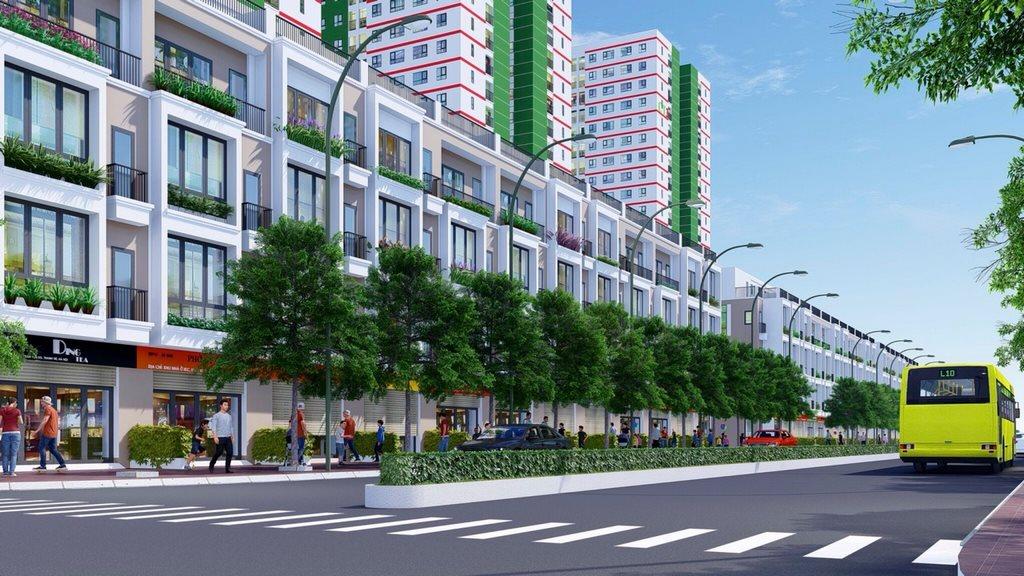 Khu nhà phố liên kế dự án IEC Residence