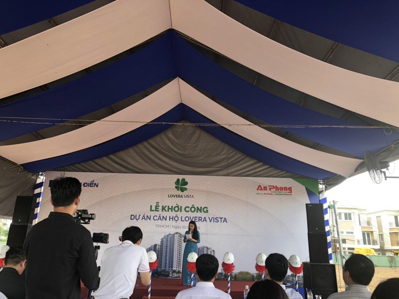 Lễ khởi công dự án căn hộ Lovera Vista Khang Điền