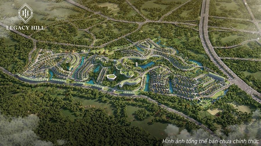 Phối cảnh tổng thể dự án Legacy Hill