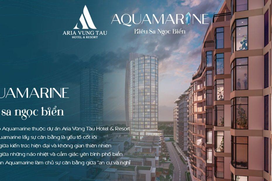 Phối cảnh tổng thể dự án Aquamarine Vũng Tàu