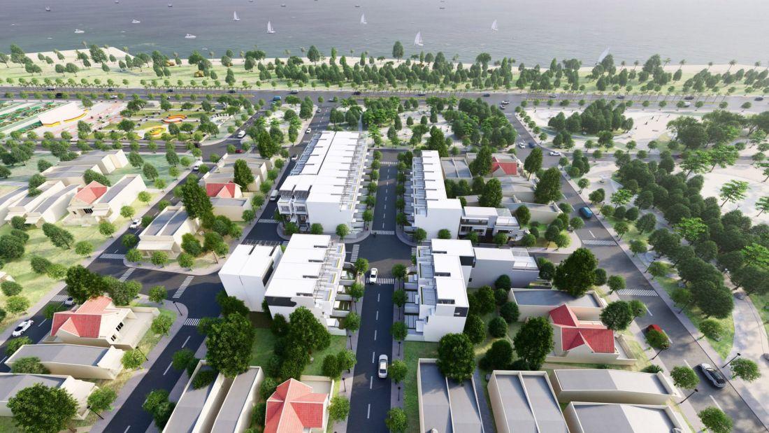 Phối cảnh tổng thể dự án đất nền Cam Lâm Riverside Khánh Hòa