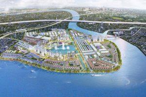 Phối cảnh tổng thể dự án khu đô thị Vạn Phúc City