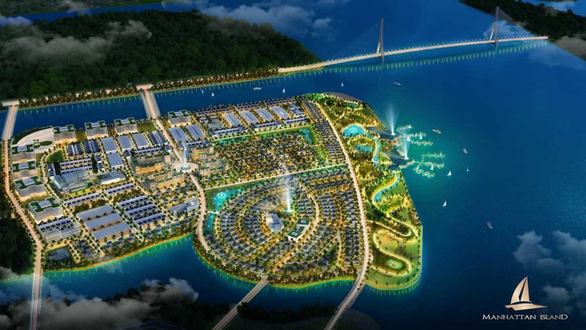 Phối cảnh tổng thể dự án Manhattan Island
