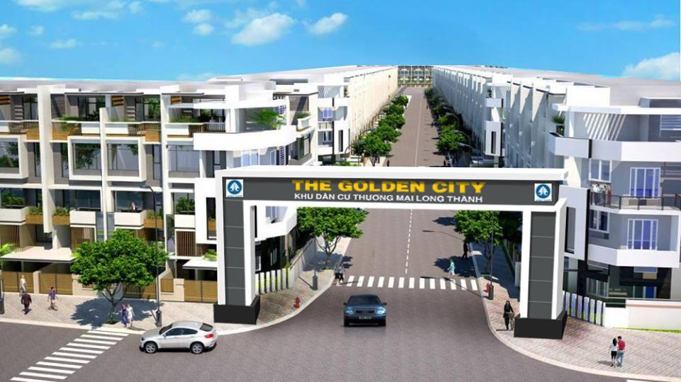 Phối cảnh tổng thể dự án The Golden City