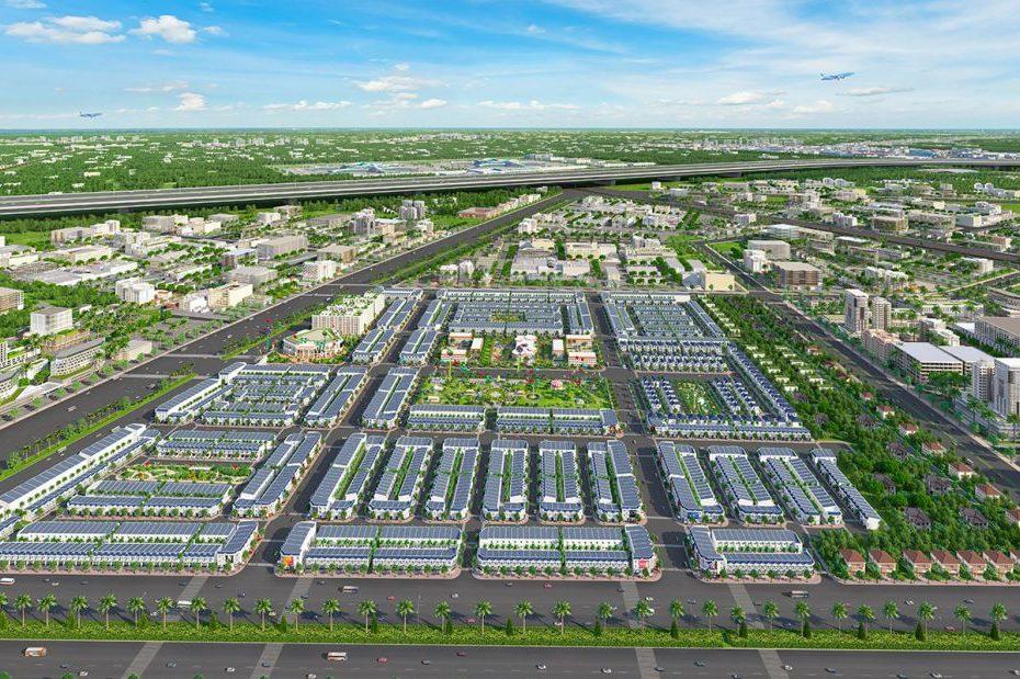 Phối cảnh tổng thể dự án Century City Long Thành