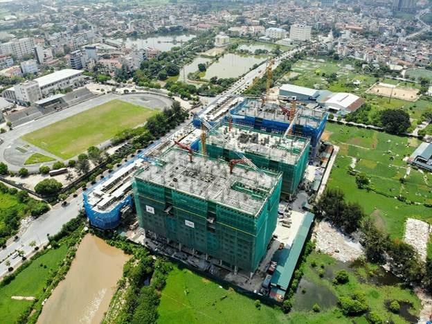 Tiến độ xây dựng dự án IEC Residence