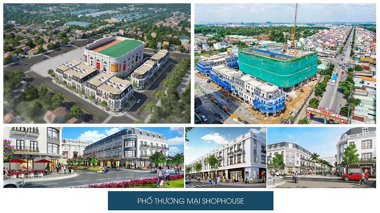 Tiện ích khu phố thương lại Shophouse bên trong dự án Charm City