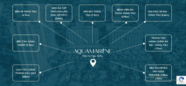 Tiện ích ngoại khu Aquamarine Vũng Tàu