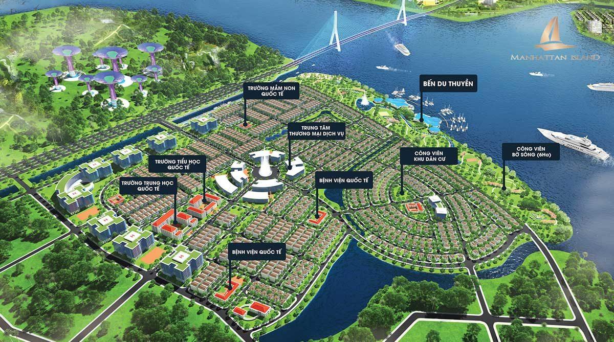 Tiện ích nội khu dự án Manhattan Island