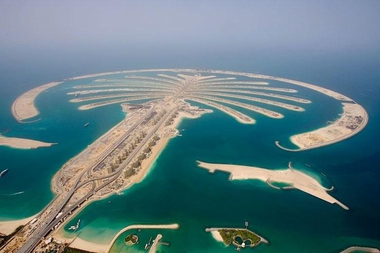 Đảo nhân tạo Cỏ Palm Island tại Dubai