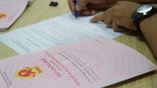 Những trường hợp được cấp giấy chứng nhận quyền sử dụng đất
