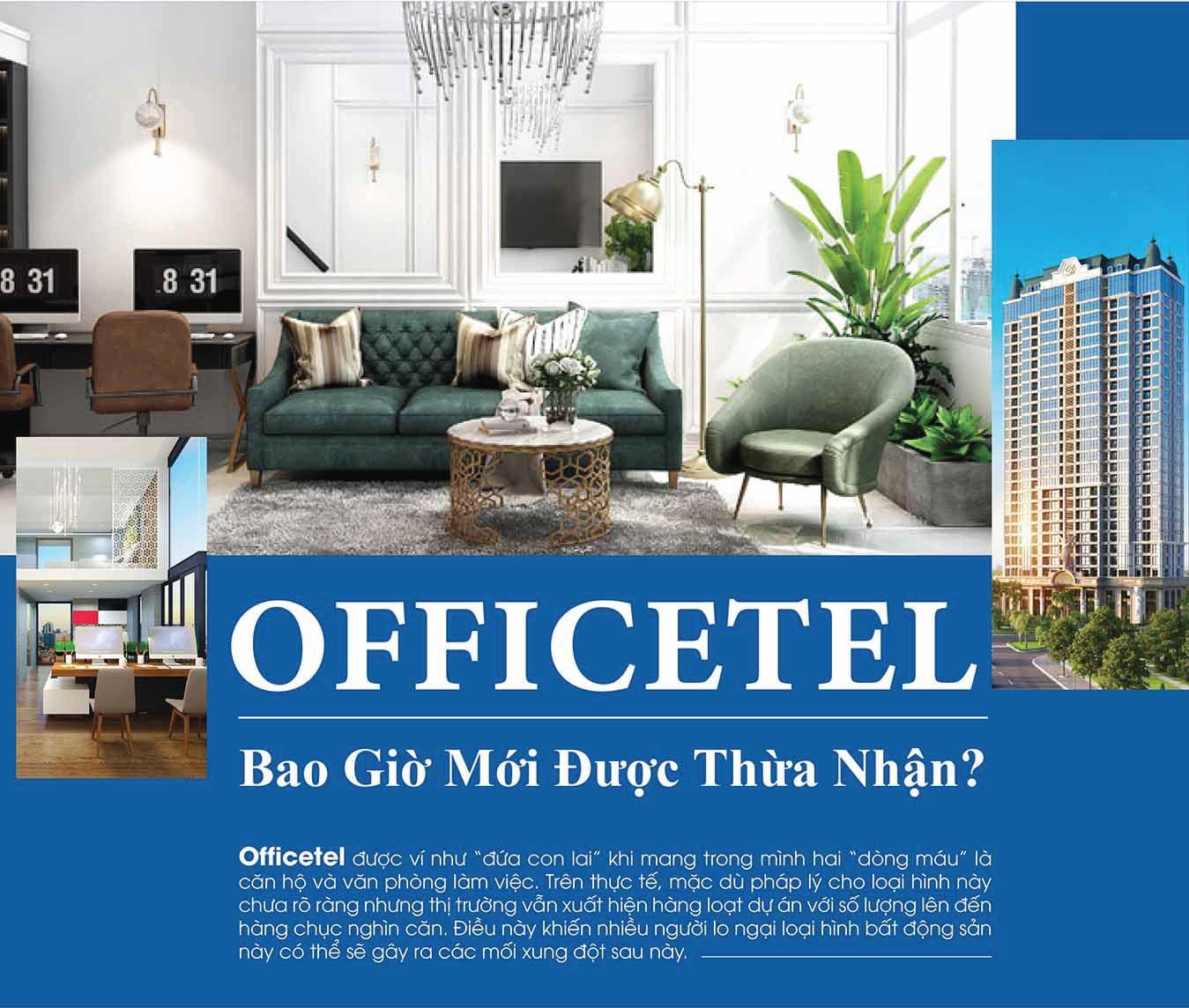 Pháp lý căn hộ Officetel