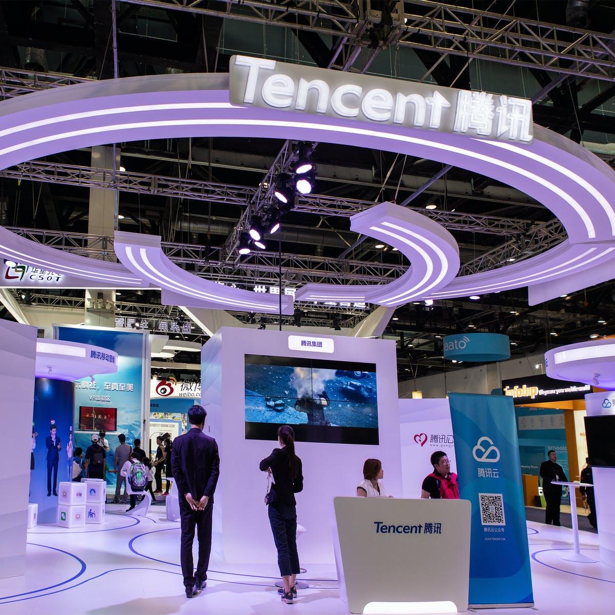 Lịch sử phát triển Tencent