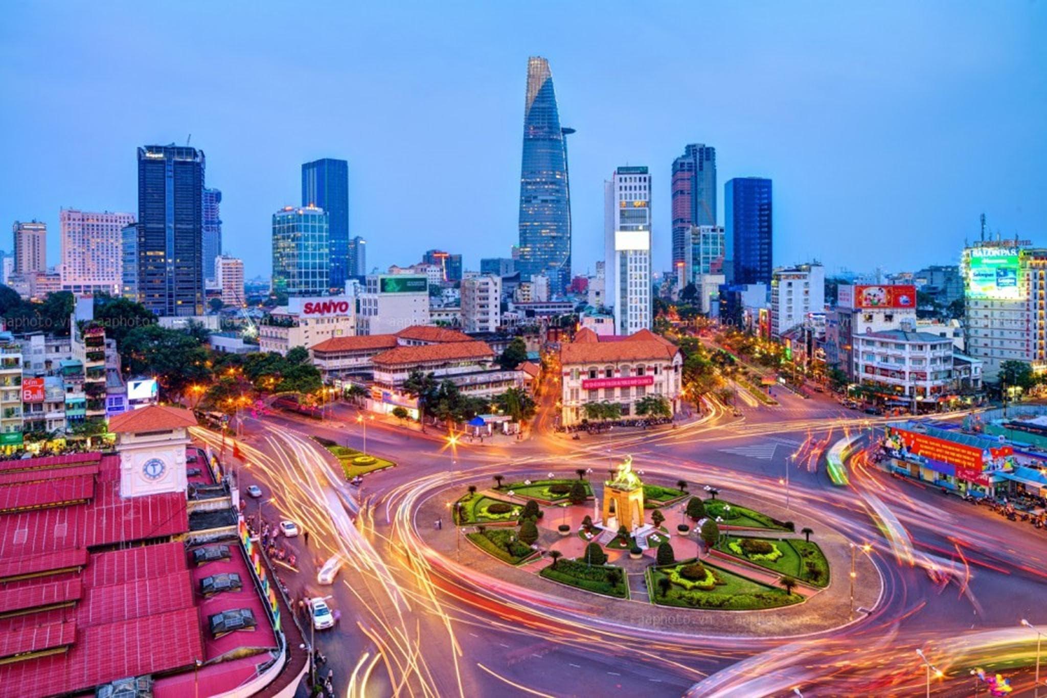 Một số khu vực phát triển mạnh đô thị hóa