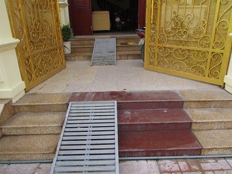 Những lưu ý khi xây dựng bậc thềm nhà