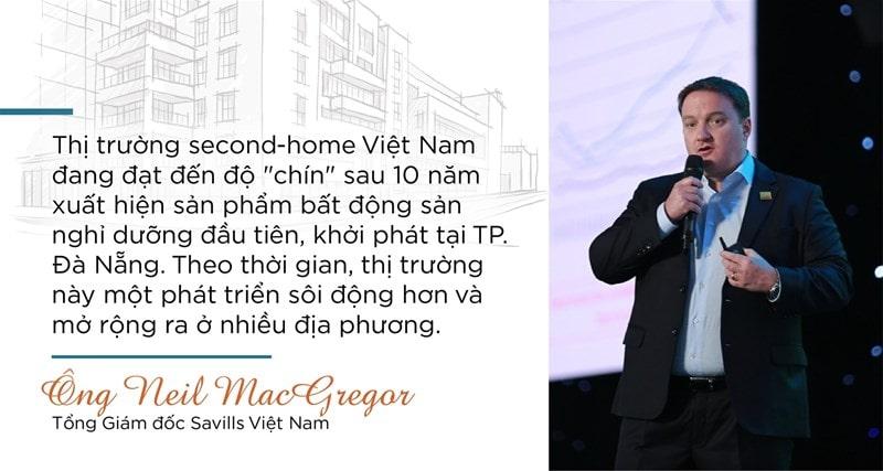 Phát biểu của tổng giám đốc Savills về Second Home