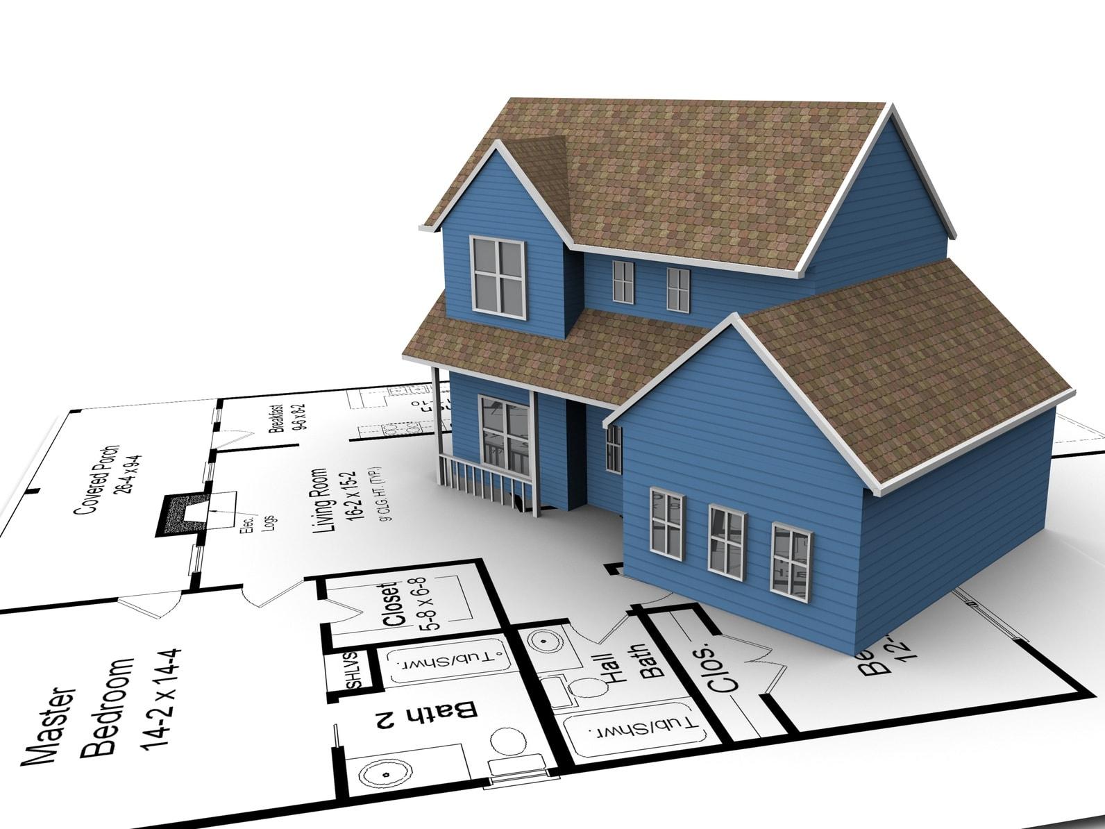 Quy định mật độ xây dựng cho nhà ở riêng lẻ
