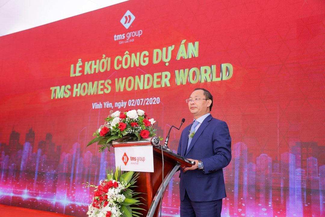 Lễ khởi công dự án tms homes wonder world