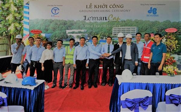 Lễ khởi công Léman Cap Residence