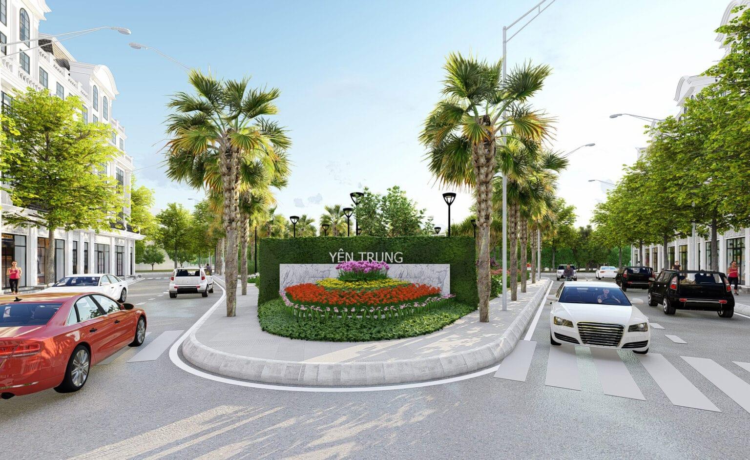 Phối cảnh tổng tuan dự án Yên Trung Residence