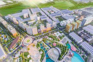 Phối cảnh tổng thể dự án An Phú Long Garden