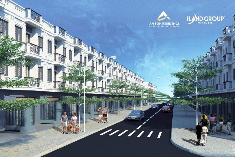 Phối cảnh tổng thể dự án An Sơn Residence
