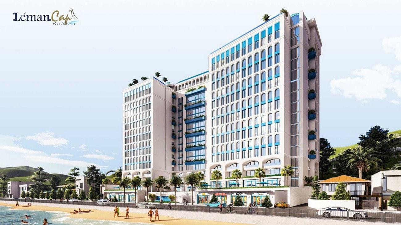 Phối cảnh tổng thể dự án Léman Cap Residence