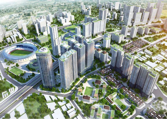 Trình tự quy hoạch khu đô thị