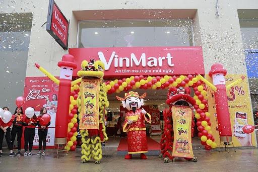 Cửa hàng thực phẩm tiêu dùng Vinmart