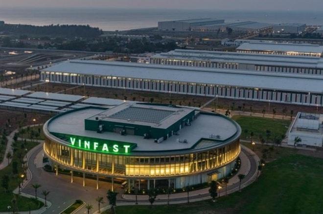 Nhà máy sản xuất oto Vinfast