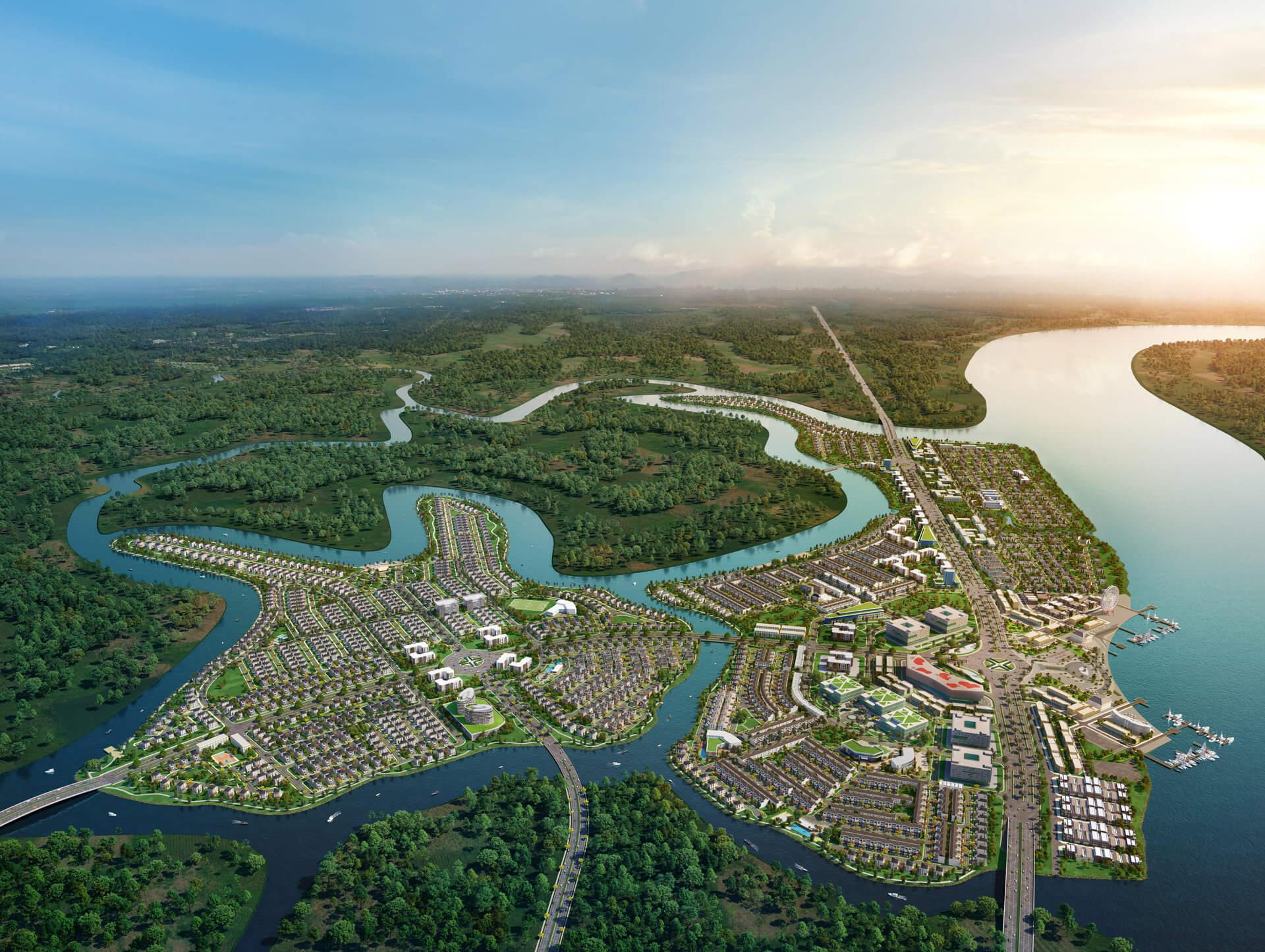 Phân khu The Elite dự án Aqua City
