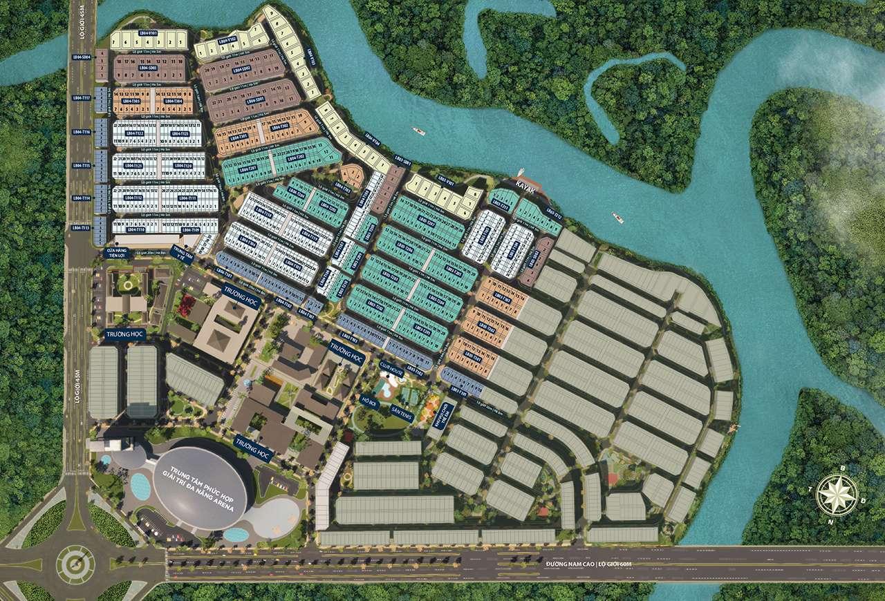 phân khu The Valencia dự án Aqua City