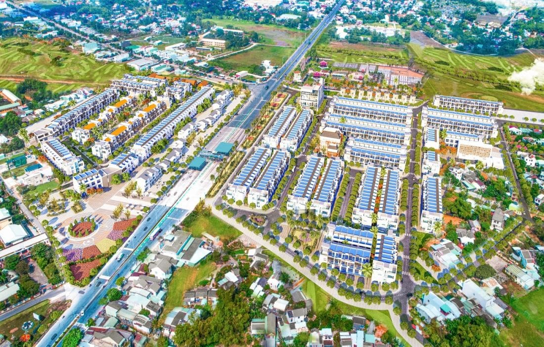 Phối cảnh tổng thể dự án Green Home