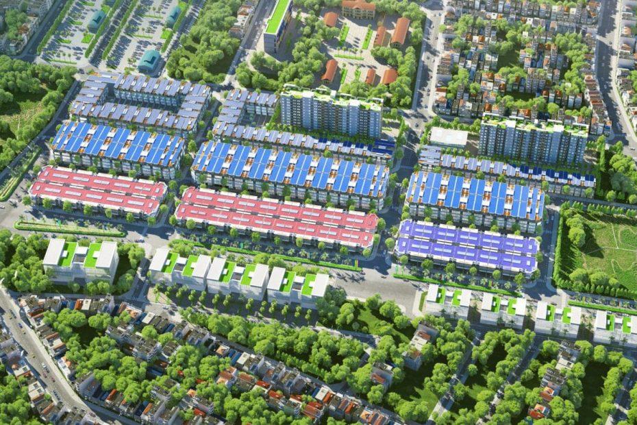 Phối cảnh tổng thể khu đô thị Sun Garden Kontum