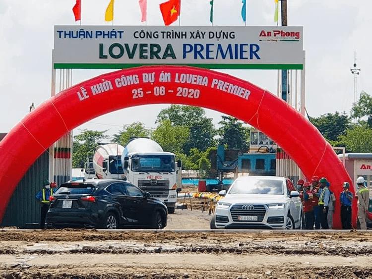 Tiến độ xây dựng Lovera Premier