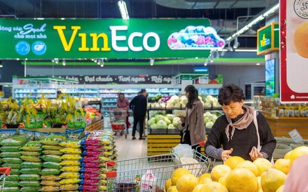 VinEco cung cấp thực phẩm sạch