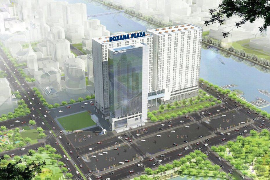 Phổi cảnh tổng thể dự án Roxana Plaza