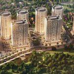 Phối cảnh tổng thể khu dự án căn hộ Mipec City View