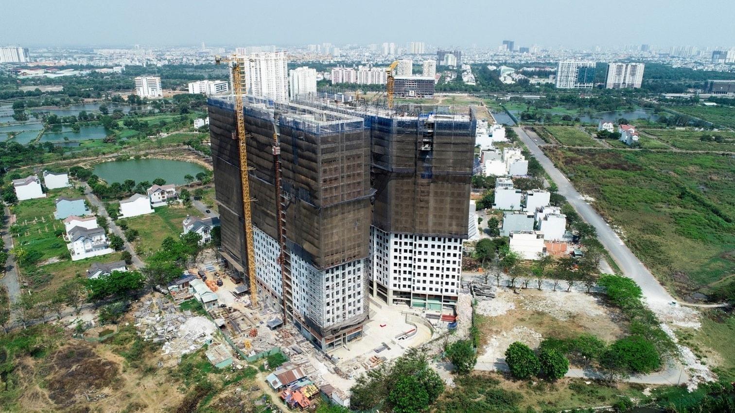 Tiến độ dự án căn hộ Saigon Intela