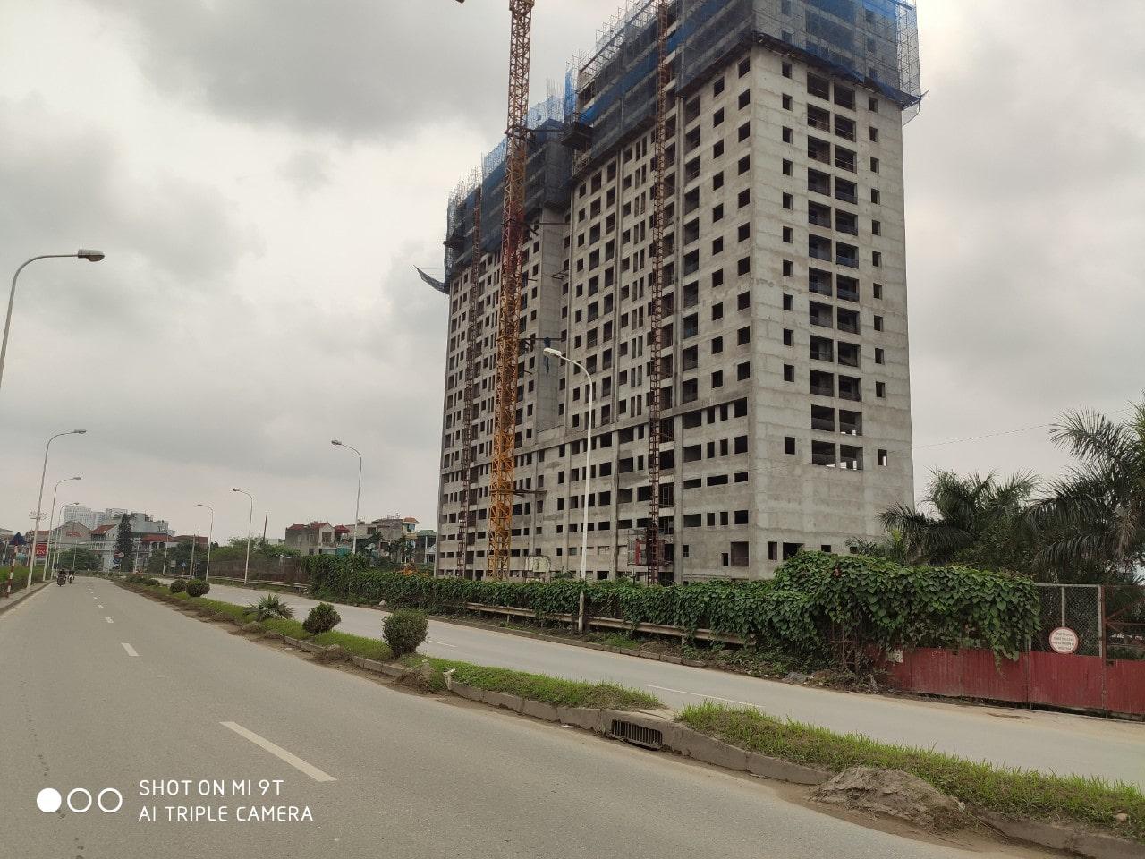 Tiến độ xây dựng dự án căn hộ C River View