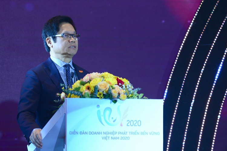 Vũ Tiến Lộc, Chủ tịch Phòng Thương mại và Công nghiệp Việt Nam (VCCI). Tín dụng: VCCI