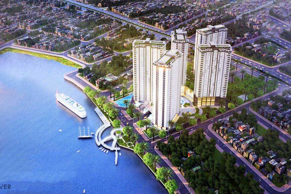 Phối cảnh tổng thể dự án Buổi mở bán dự án LDG River