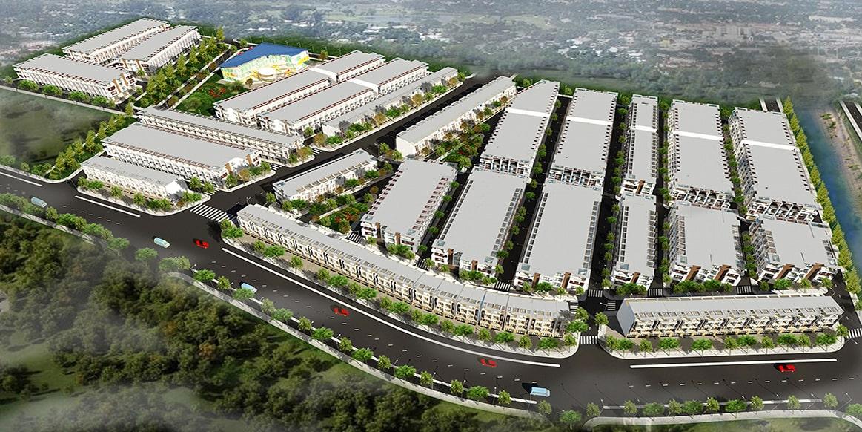 Phối cảnh tổng thể dự án Himlam Hùng Vương