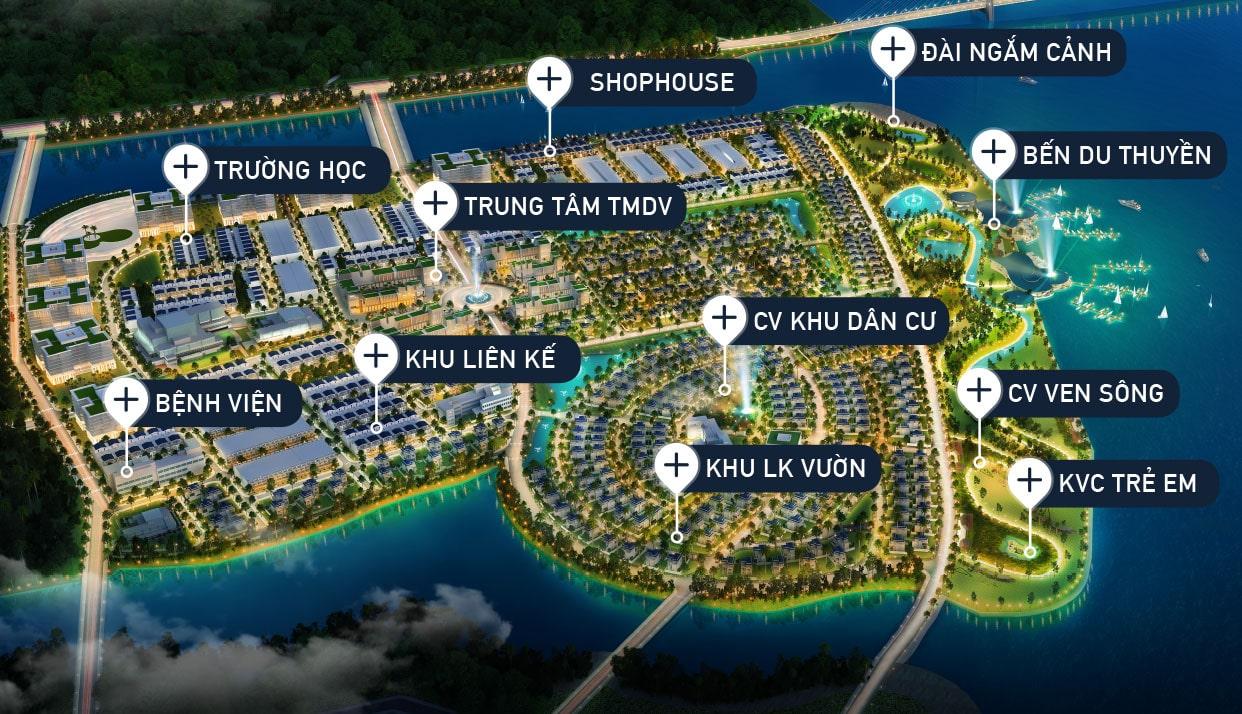 Phối cảnh tổng thể dự án King Bay