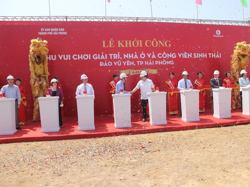 Le khoi cong Vinwonders Vu yen
